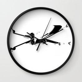 X-Wing Print Wall Clock