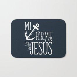 Ancla firme en Jesús Bath Mat