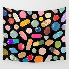 Unicorn Vitamins Wall Tapestry