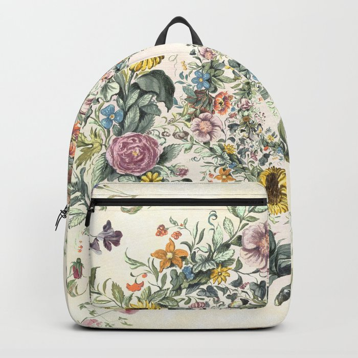 Circle of Life Cream Backpack