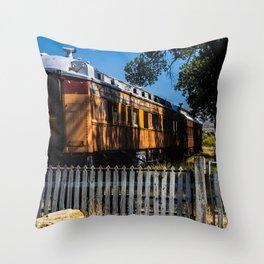 The Virgina/Nevada City line Throw Pillow