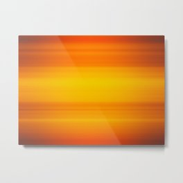 Sunny abstract background blur motion soft sun Metal Print