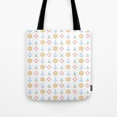 The Essential Patterns of Childhood - Sailing Tote Bag