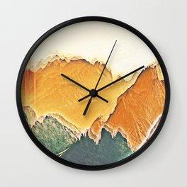 colour mountain Wall Clock