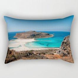 Balos Beach Rectangular Pillow