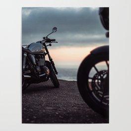 Moto sunset Poster