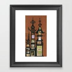 I Love You, Hundertwasser #1 Framed Art Print