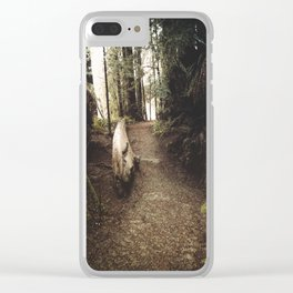 Adventure Ahead Clear iPhone Case