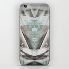 Turquoise Transformation  iPhone & iPod Skin