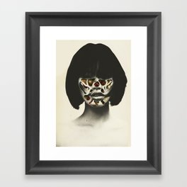 Bow & scrape (2015)  Framed Art Print