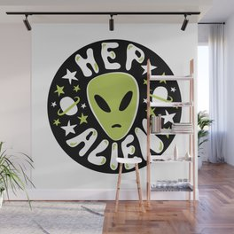 Hep Alien Wall Mural