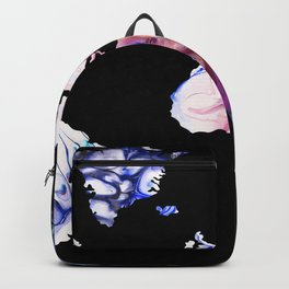 Pastel Map Backpack