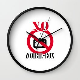No zombie-box Wall Clock