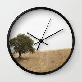 The solitary holm oak Wall Clock
