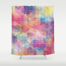 Cuben Web Shower Curtain