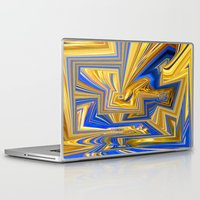 alchemy Laptop & iPad Skins featuring Attempted Alchemy by David  Gough