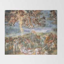 "Michelangelo ""The Conversion of Saul"" Throw Blanket"