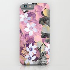 Lucky clover pink iPhone 6s Slim Case