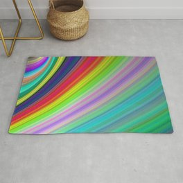 Rainbow Speed Rug