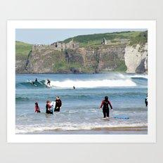 Surfs Up! 3 Art Print