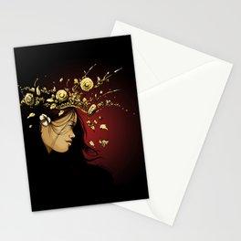 free spirit apsara Stationery Cards