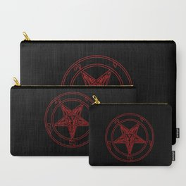 Das Siegel des Baphomet (rot) - The Sigil of Baphomet (red) Carry-All Pouch