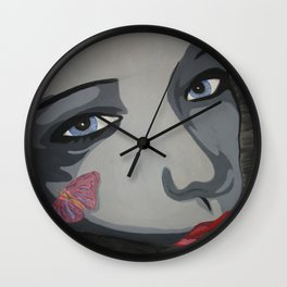 In the Space of a Heartbeat Wall Clock