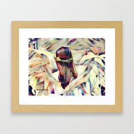In the Arms of an Angel Framed Art Print