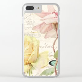 Florabella IV Clear iPhone Case