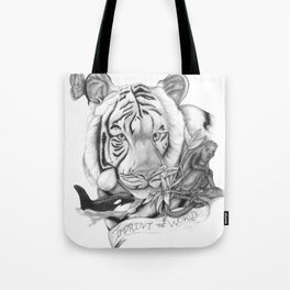 Imprint The World Tote Bag
