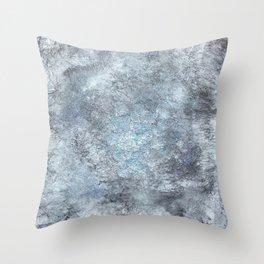 Green Metal Throw Pillow
