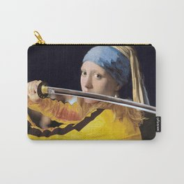 """Vermeer's """"Girl with a Pearl Earring"""" & Kill Bill Carry-All Pouch"""