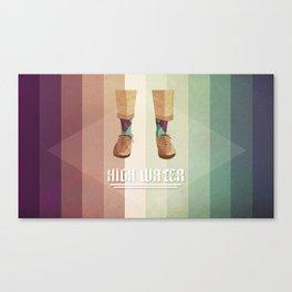 High Water Canvas Print