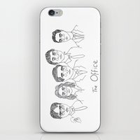 cactei iPhone & iPod Skins featuring The Office by ☿ cactei ☿
