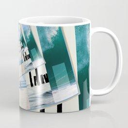 Watching The Ocean Coffee Mug