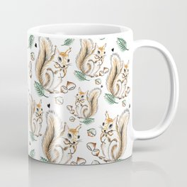Autumn Squirrel Coffee Mug