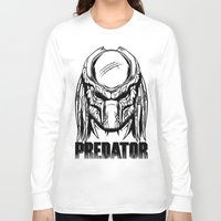 predator Long Sleeve T-shirts featuring Predator by OneAppleInBox