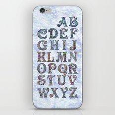 The Alphabet iPhone & iPod Skin