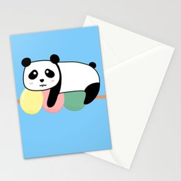 Panda Loves Mochi Stationery Cards