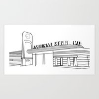 the national Art Prints featuring National  by lexien