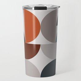 Mid Century Modern Geometric 25 Travel Mug