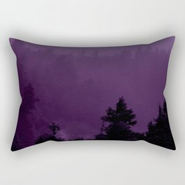 Purple Fog Rectangular Pillow