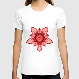 Mandala Poinsetta T-shirt