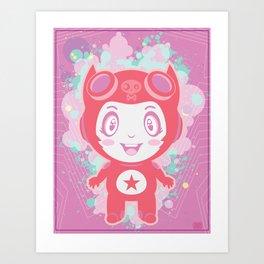 Bubbly! Art Print