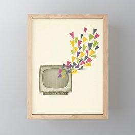 Transmission Framed Mini Art Print