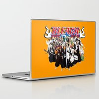 bleach Laptop & iPad Skins featuring TOGETHER BLEACH by feimyconcepts05