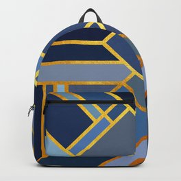 Art Deco Drops Of Jupiter Backpack