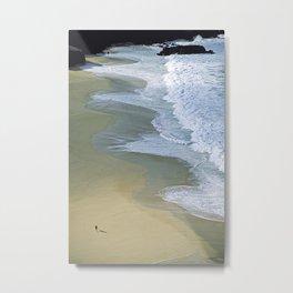 "Beach Lifestyle ""GOD'S POV"" Metal Print"
