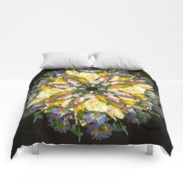 Flemish Floral Mandala 5 Comforters