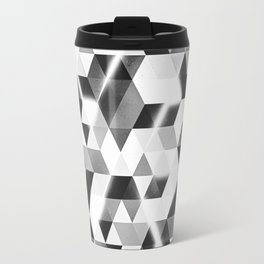 amped (monochrome series) Travel Mug